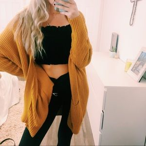 Urban Outfitters Oversized Chunky Knit Cardigan